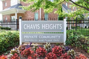 Raleigh Housing Authority - photo of Chavis Height Sign
