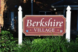 Raleigh Housing Authority - photo of Berkshire Village sign