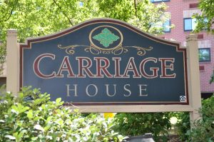 Raleigh Housing Authority - Carriage House sign photo