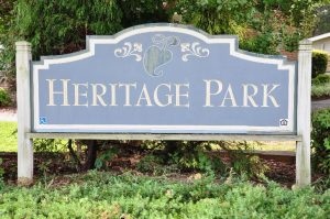 Raleigh Housing Authority - photo of the Haritage park Sign