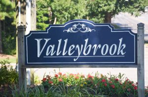Raleigh Housing Authority - photo of valleybrook sign