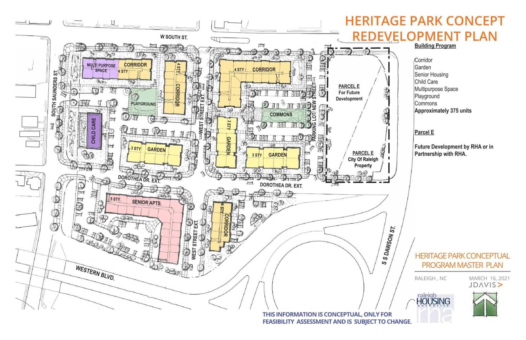 Heritage Park Concept Redevelopment Plan